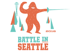 Battle in Seattle 2016 Tee Shirt Design